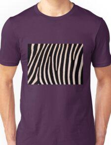 T Shirt Zebra Pattern Unisex T-Shirt