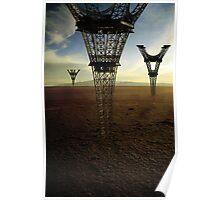 Eiffel Down-under Poster