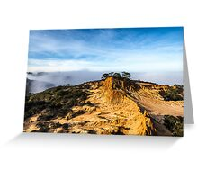 BROKEN HILL LANDSCAPE Greeting Card