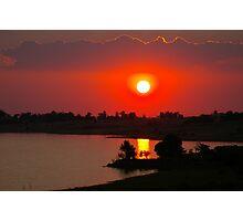 Sunset at Thula Photographic Print