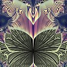 Beautiful Butterfly Ballet Fractal by Rose Santuci-Sofranko