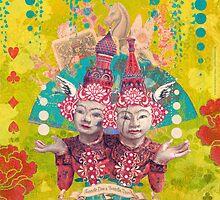 Tweedle Dee and Tweedle Dum by AngiandSilas