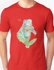 Good News Iris Floriography Inkblot Unisex T-Shirt