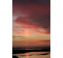 Sunset 11 - Kommetjie Boat Slipway Photographic Print