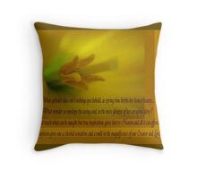 Magnificence! Throw Pillow