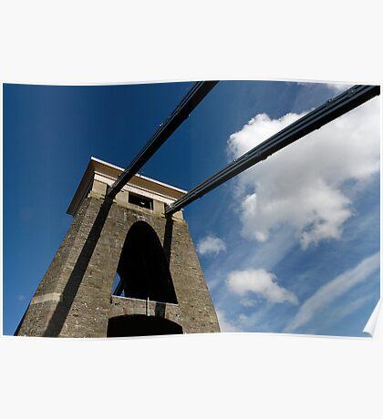 Clifton Suspension Bridge, Bristol, UK Poster