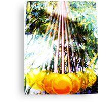 GREENHOUSE PENDULUM Canvas Print