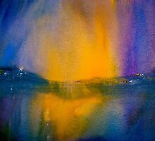 Landscape Abstract.. Northern Night by ©Janis Zroback