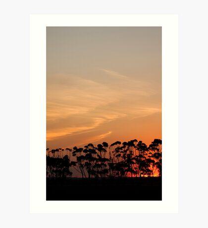 Sunset 10 Art Print