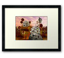 PAPERDOLL WORLD Framed Print