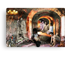 HALL OF MISFITS Canvas Print