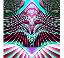 Ascension Into Heaven Fractal Photographic Print
