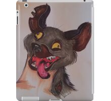 Lion King Hyena Drawing iPad Case/Skin
