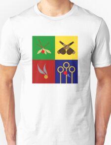 Quidditch Positions Unisex T-Shirt