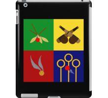 Quidditch Positions iPad Case/Skin