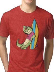 Salty Surfer Tri-blend T-Shirt