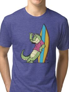 Salty Surfer Tri-blend T-Shirt