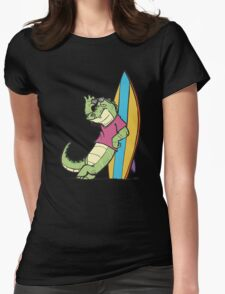 Salty Surfer Womens Fitted T-Shirt