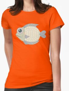 A Cool Fish Womens Fitted T-Shirt