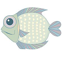 A Cool Fish Photographic Print