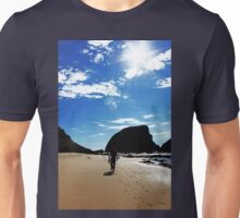 Walking On The Beach Unisex T-Shirt