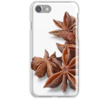Star anise iPhone Case/Skin