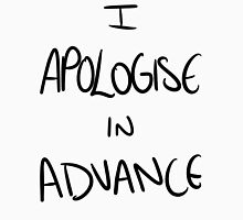 I Apologise In Advance Men's Baseball ¾ T-Shirt