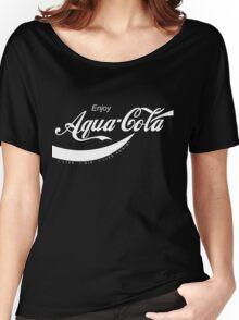 Enjoy Aqua-Cola - Courtesy of Citadel Women's Relaxed Fit T-Shirt