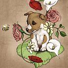 Puppy Posie by micklyn
