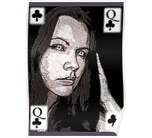 QUEEN OF CLUBS Poster