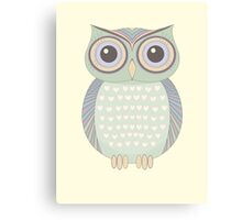 Only One Owl Canvas Print