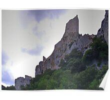 Château de Peyrepertuse Poster