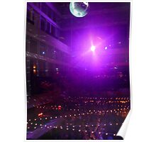 Disco Ball Illuminated Poster