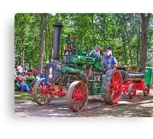 Case Steam Engine Canvas Print