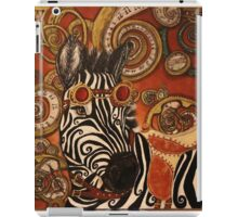 SteamPunk Zebra iPad Case/Skin