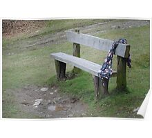 A Waiting Bench Poster
