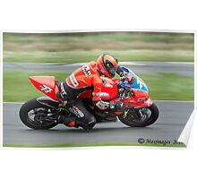 Ryan Farquar, Easter Monday Kirkistown. Poster