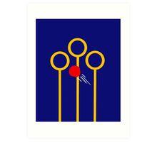 Quidditch Keeper Art Print