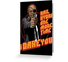 Vengeance and Fury Greeting Card