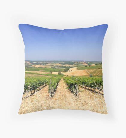 Chianti Hills  Throw Pillow