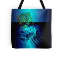 Mother Technology Sends Greetings Tote Bag