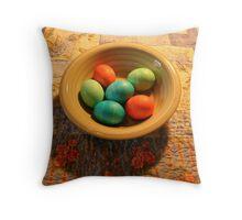 More eggs Throw Pillow