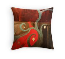 Bedroom Wall 1 Throw Pillow