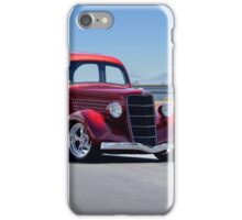 1935 Ford Tudor Sedan iPhone Case/Skin
