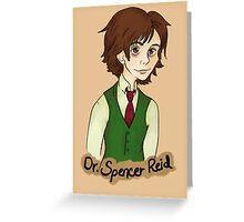 Dr. Spencer Reid Greeting Card