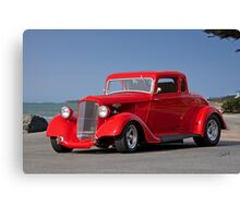 1934 Plymouth Coupe Canvas Print