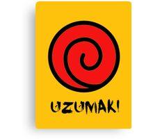 Uzumaki Clan Symbol Canvas Print