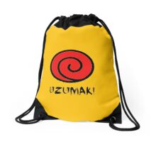 Uzumaki Clan Symbol Drawstring Bag