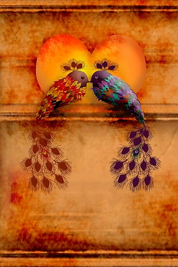 Love Birds by © Karin Taylor