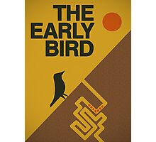 The early bird... Photographic Print